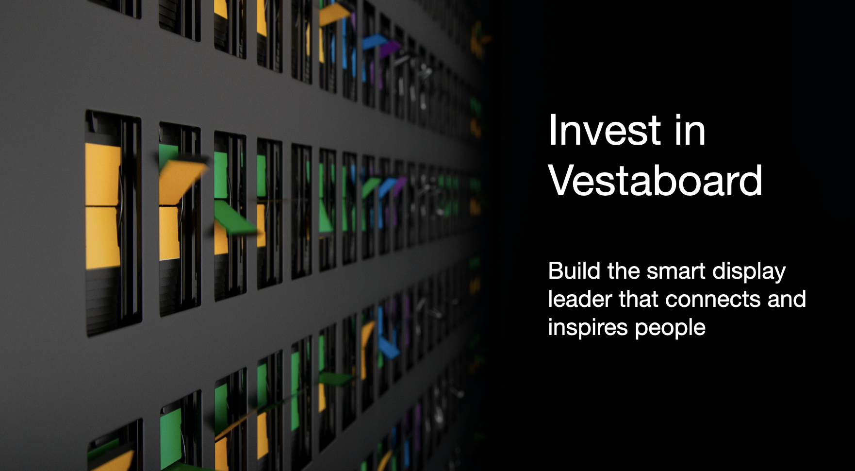 Invest in Vestaboard